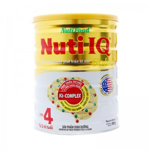Sữa Nuti IQ step4 gold 900g