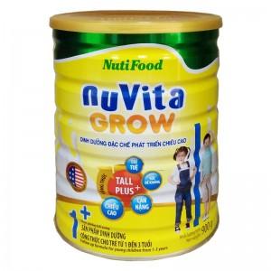 Sữa Nuvita Grow 1+ 900g (1-3 tuổi)