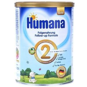 Sữa Humana số 2 800g Đức (trẻ từ 6 – 12 tháng)