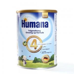 Sữa Humana số 4 800g của Đức (trẻ từ 2-12 tuổi)