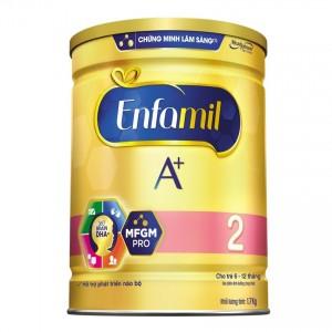 Sữa bột Enfamil A+ 2 DHA+ và MFGM 1.7kg