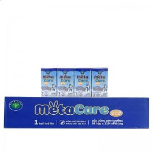 Sữa nước Meta xanh hộp 110ml