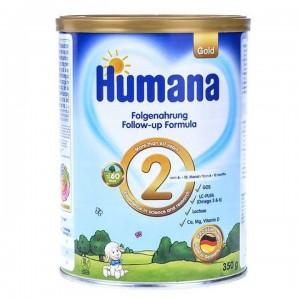 Sữa bột Humana Gold số 2 350g 6-12 tháng